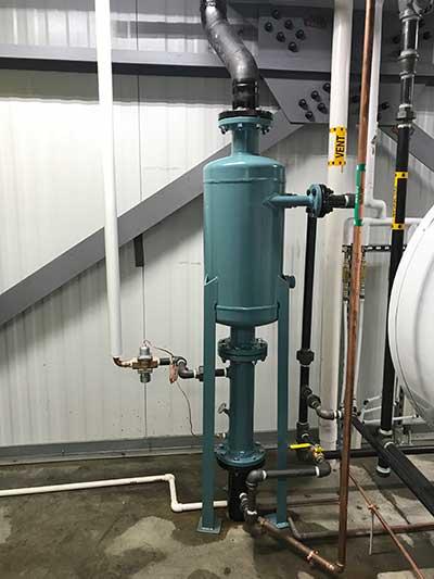 Boiler Room Equipment From H V Burton Company